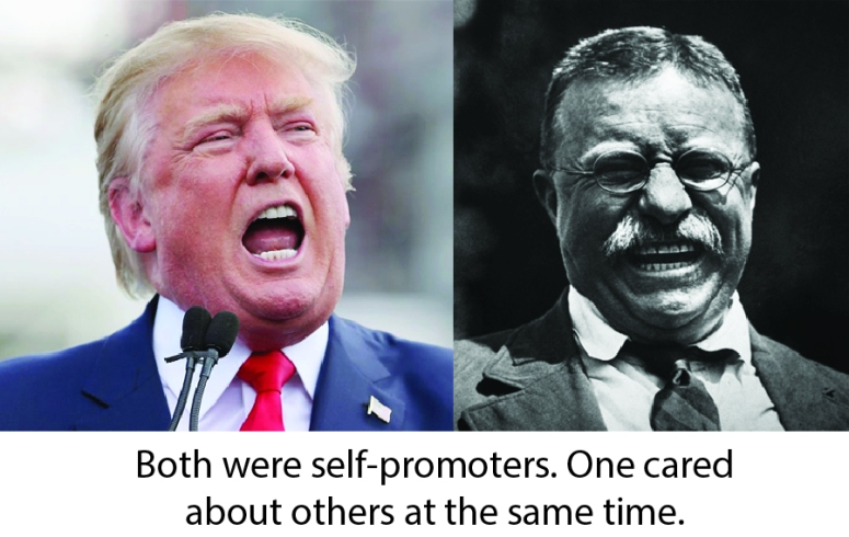Teddy and Trump